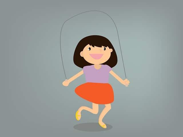 touwtje springen afvallen