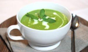 gezonde lunch soep